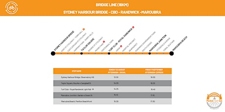 Guided Bike Commute: Sydney Harbour Bridge to Maroubra - Express tickets