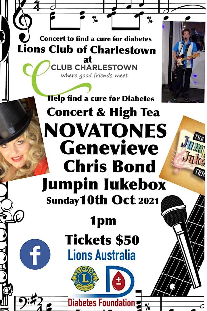 Lions Diabetes Fundraiser Concert image