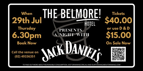 A Night with Jack Daniels tickets
