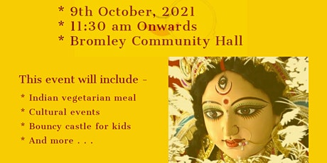Christchurch Durga Utsab (Festival) 2021 tickets