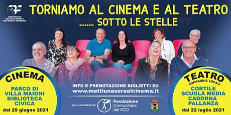 NESSUN NORMAL   - TORNIAMO AL CINEMA E AL TEATRO SOTTO LE STELLE biglietti