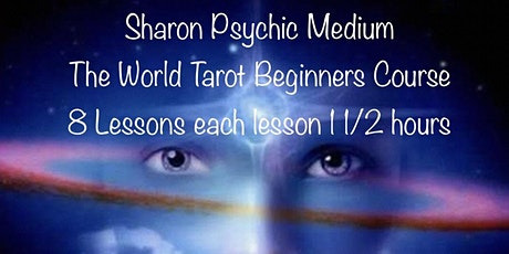 Virtual Tarot Beginners Course - 8 Lessons. tickets