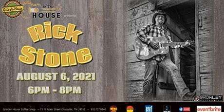 """Rick Stone LIVE """"In the House"""" tickets"""