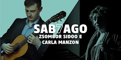 Zsombor Sidoo | Introduce Carla Manzon Reading Dante biglietti