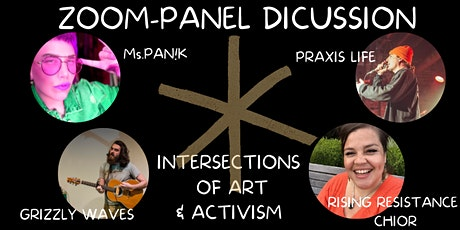 PANEL DISCUSSION: INTERSECTIONS OF ART & ACTIVISM tickets