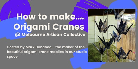 How to Make Origami Cranes tickets