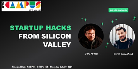 Startup hacks from Silicon Valley tickets