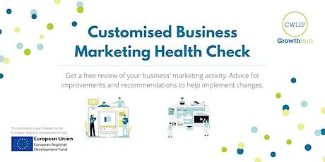 Marketing & Digital Activity Health Check tickets