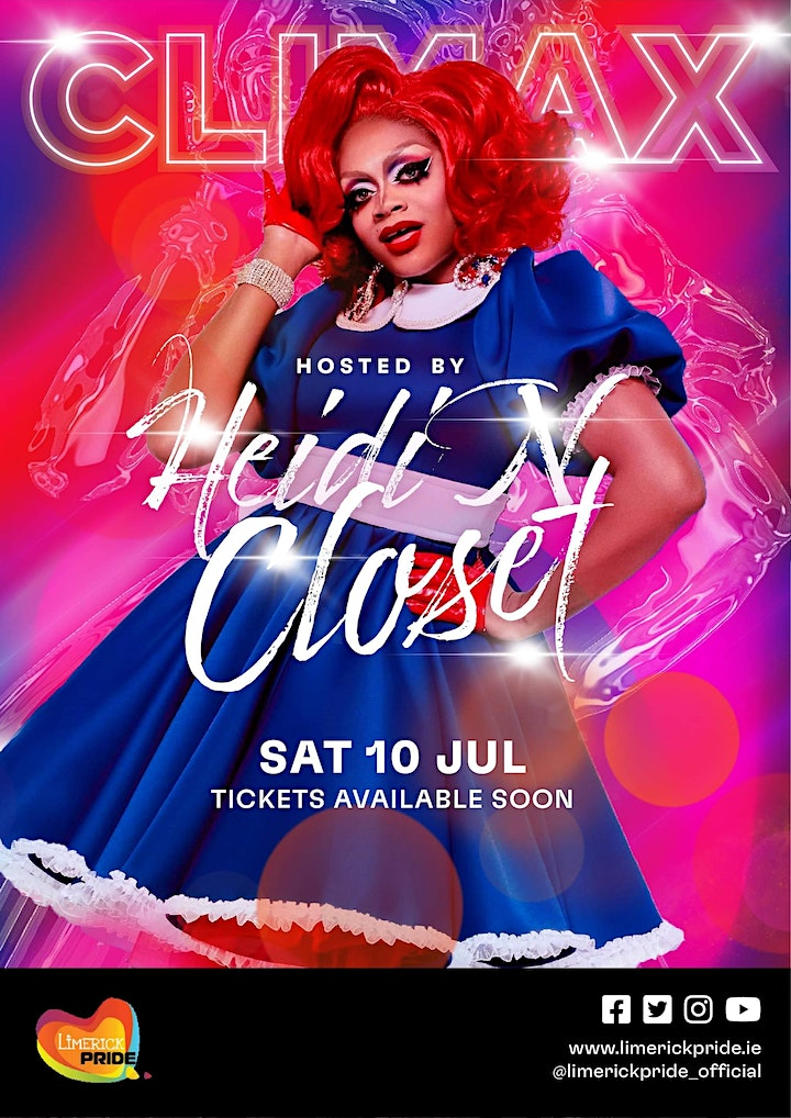 Limerick. Pride  - Climax Party 2021 image