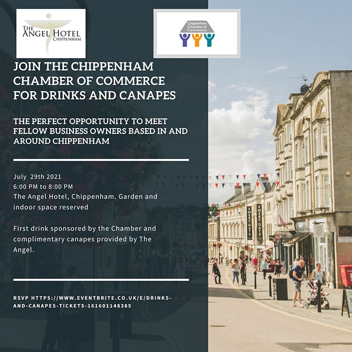 Chippenham Chamber of Commerce - Drinks and Canapes image