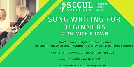 Songwriting for Beginners with Mick Brown tickets
