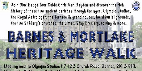 Barnes/Mortlake Heritage Walk @ drinks at Putney Town Rowing Club tickets