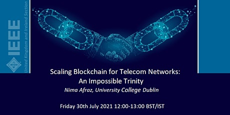 Scaling Blockchain for Telecom Networks: An Impossible Trinity tickets