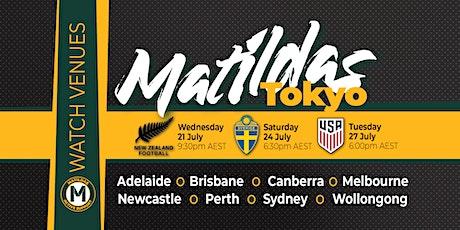 Canberra Matildas Active Watch Parties tickets