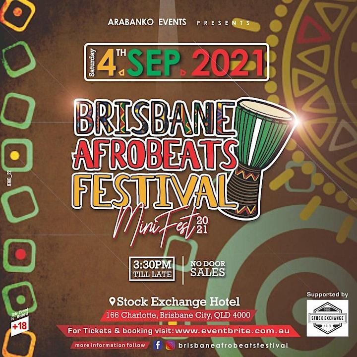 Brisbane Afrobeats Festival~ Mini Fest 2021 image