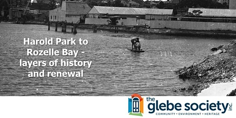 Harold Park to Rozelle Bay: layers of history and renewal tickets