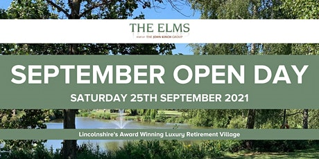 Open Day Event - 25th September 2021 tickets