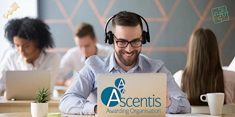 Ascents EDSQ Quality Assurance Webinar tickets