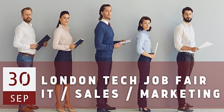 London Tech Job Fair by Techmeetups tickets