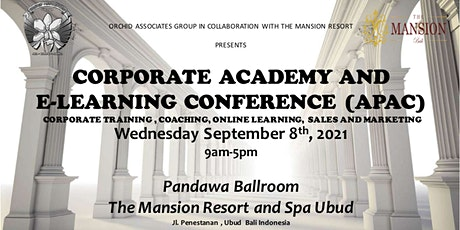 Corporate Academy & e-Learning Conference (APAC) tickets