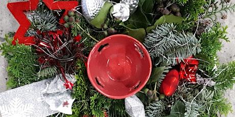 Workshop kerststuk op schaal tickets