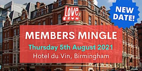 LoveBrum's Members Mingle August 2021 tickets