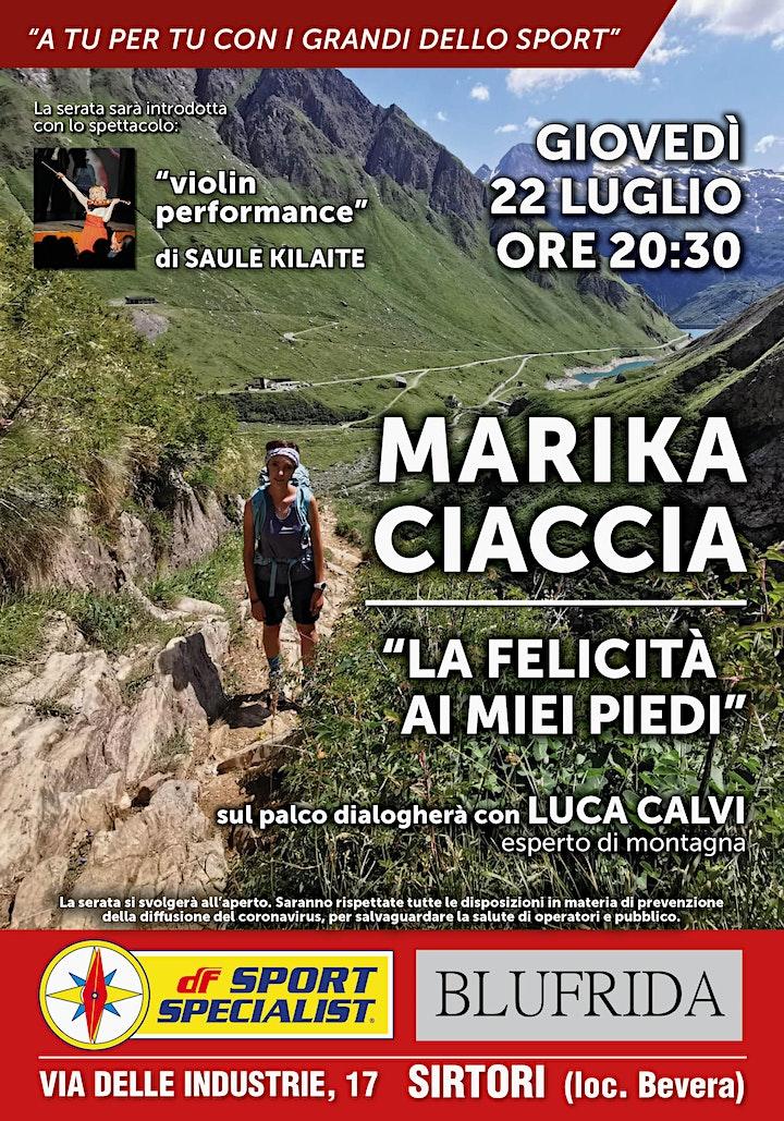 Immagine A tu per tu con i grandi dello sport - Marika Ciaccia