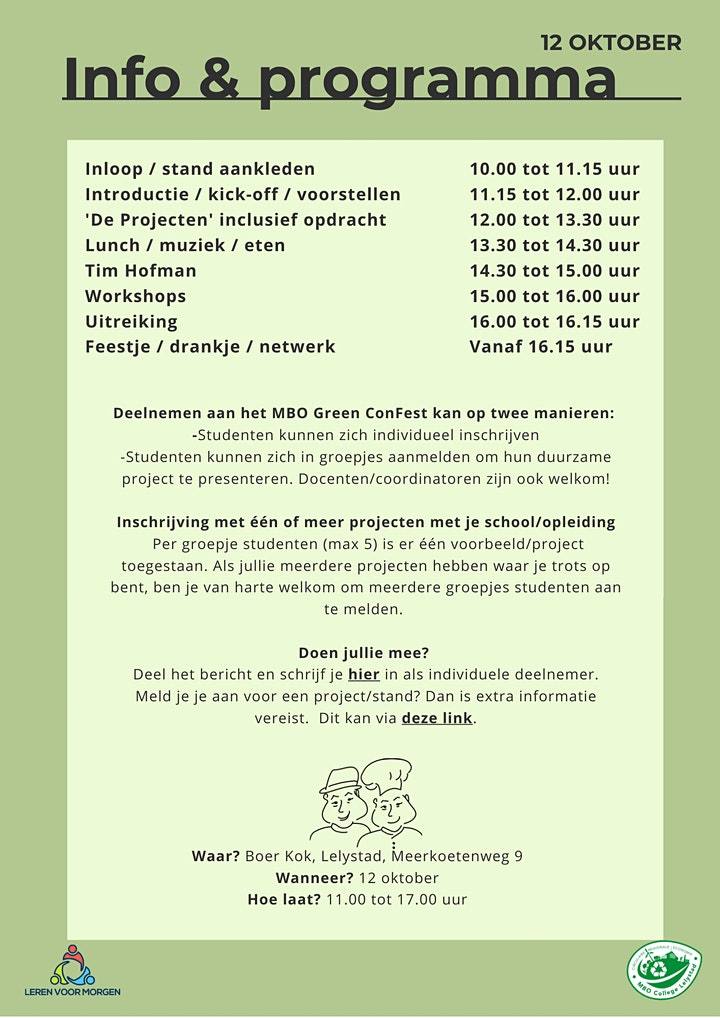 MBO Green ConFest 2021 image