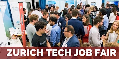Zurich Tech Job Fair  by Techmeetups tickets