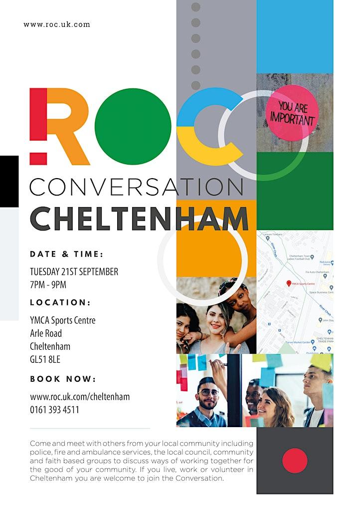 ROC CONVERSATION: Cheltenham image