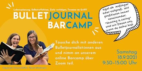 Bulletjournal Barcamp tickets