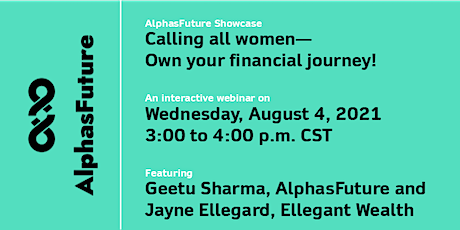 Calling all women! Own your financial journey! tickets