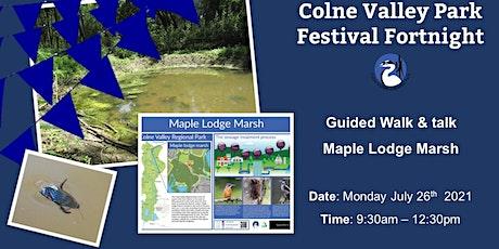 Maple Lodge Marsh Walk & Talk tickets