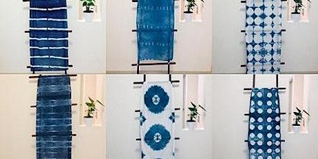 Introduction to Shibori Design  & indigo dyeing(Noosa Hinterland/Cooroy) tickets