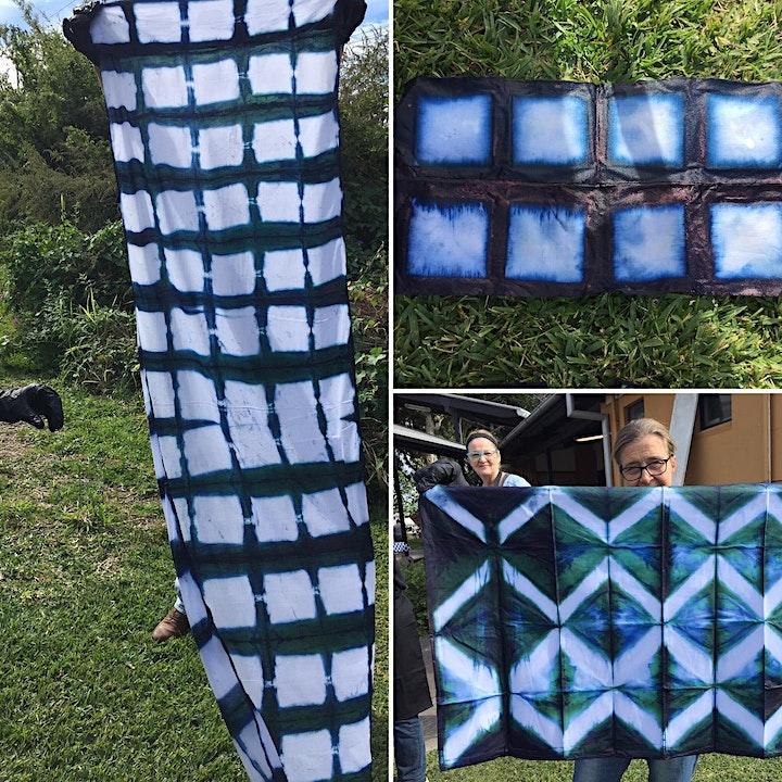 Introduction to Shibori Design  & indigo dyeing(Noosa Hinterland/Cooroy) image