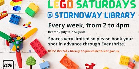 Lego Saturdays tickets