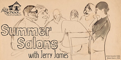 Summer Salons with Jerry James: tickets