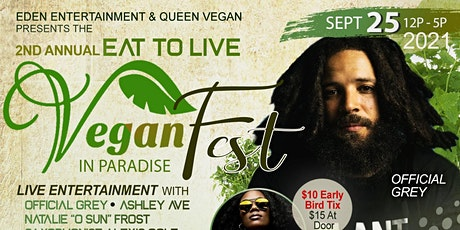 2nd Annual Eat to Live Vegan Festival tickets