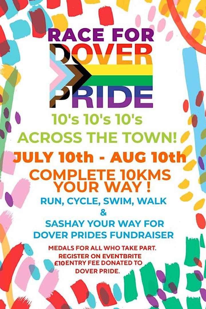 Dover Pride - Race for Dover Pride 2021 image