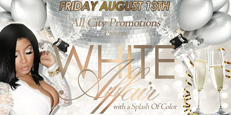 WHITE AFFAIR with a Splash of Color @ AMAZURA on Friday August 13th tickets