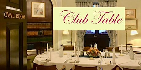 July's Club Table at the Caledonian tickets