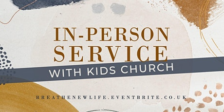 11:00am Service with Kids Church (25th July) tickets