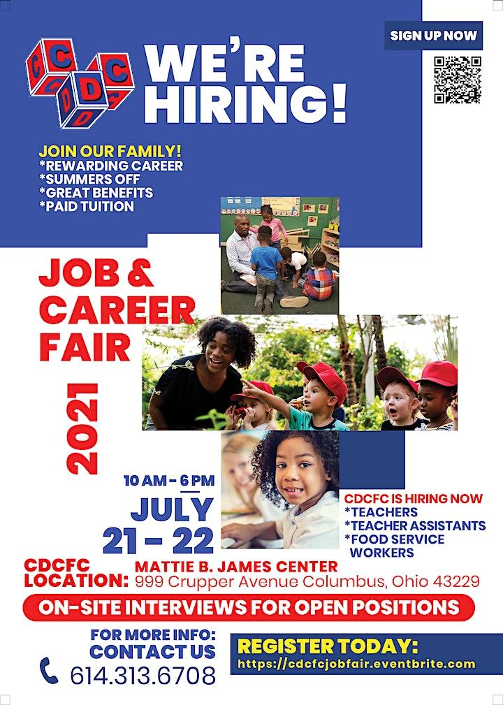 CDCFC Job & Career Fair image