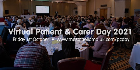 Mesothelioma UK Virtual Patient & Carer Day 2021 tickets