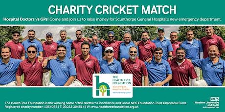 Charity Cricket Match - Scunthorpe Hospital Doctors vs GPs tickets