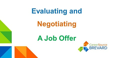 Evaluating and Negotiating a Job Offer tickets