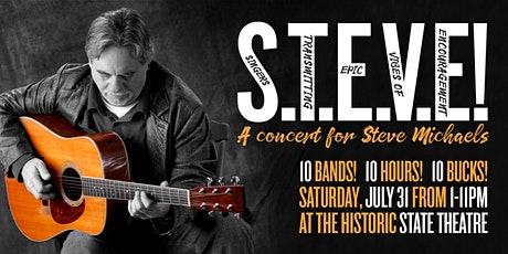 Concert for Steve Michaels tickets