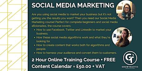 Social Media Marketing tickets