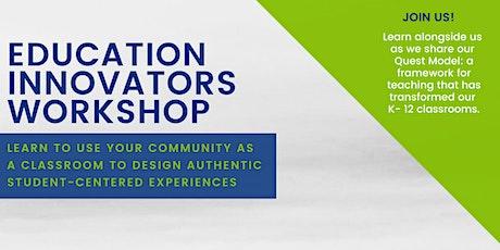 Education Innovators Workshop tickets