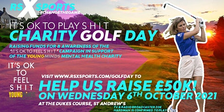 'It's OK To Play S•H•I•T' Golf Day for YoungMinds Mental Health Charity tickets